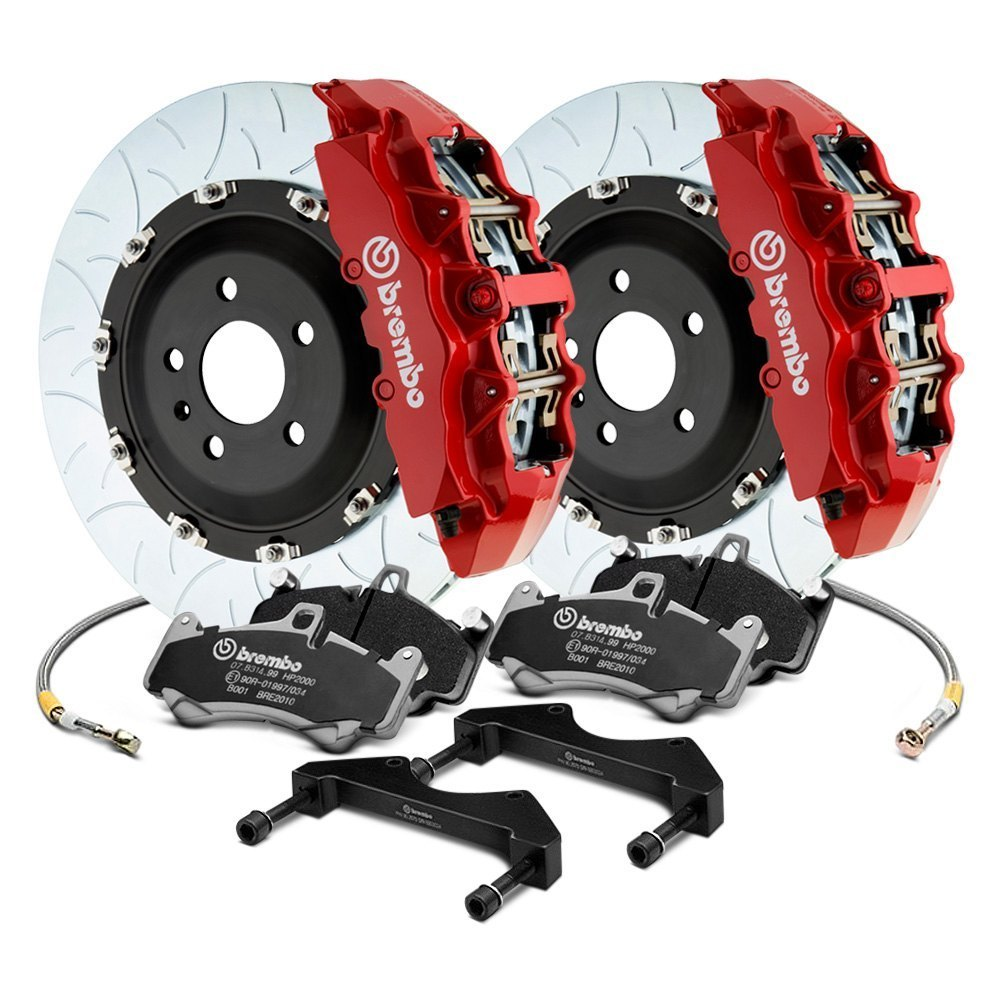 Brembo GT 6-Piston Big Brake Kit For Tesla Model 3