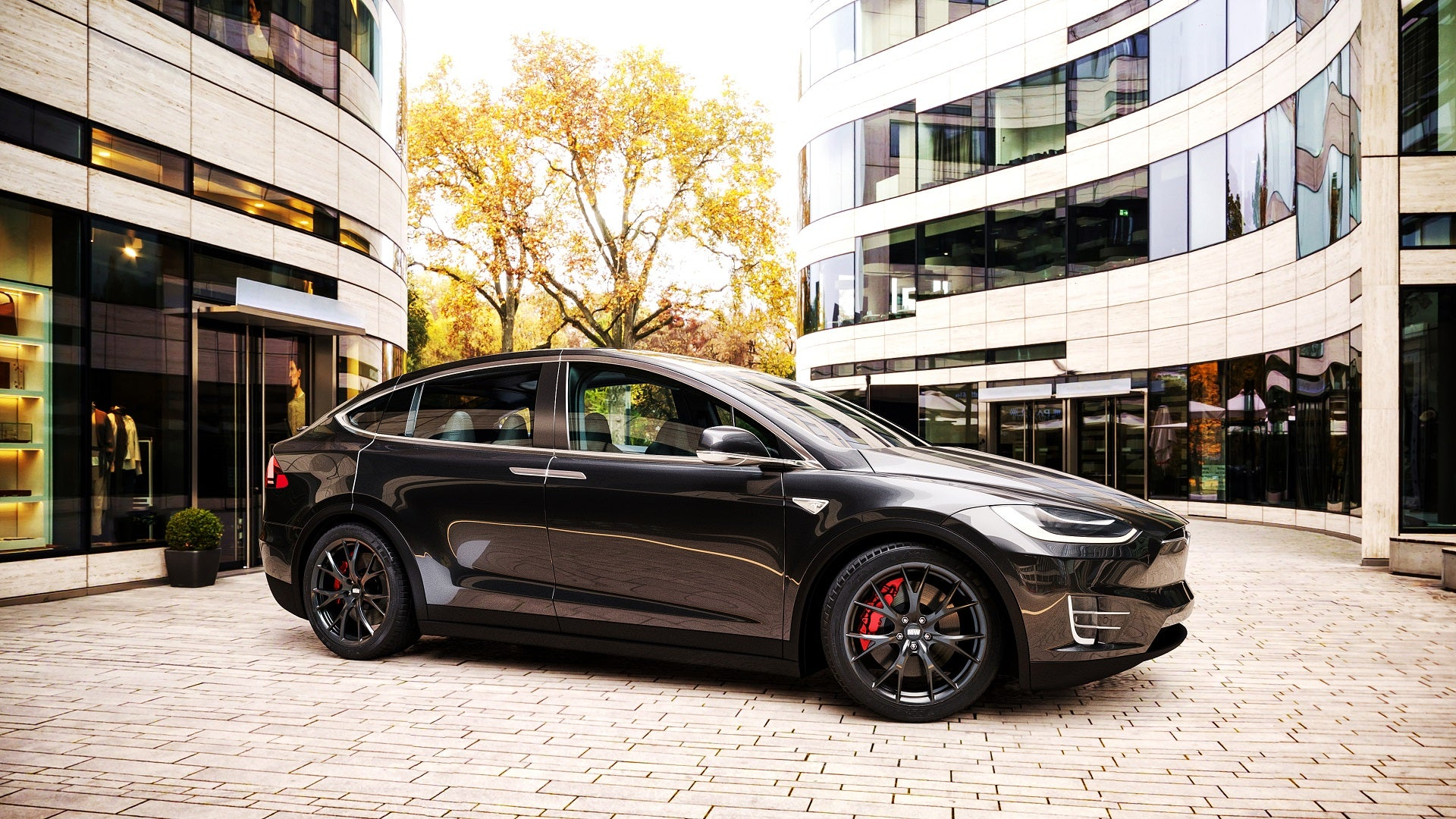 "Tesla Model X 20"" MW03 Forged Wheels"