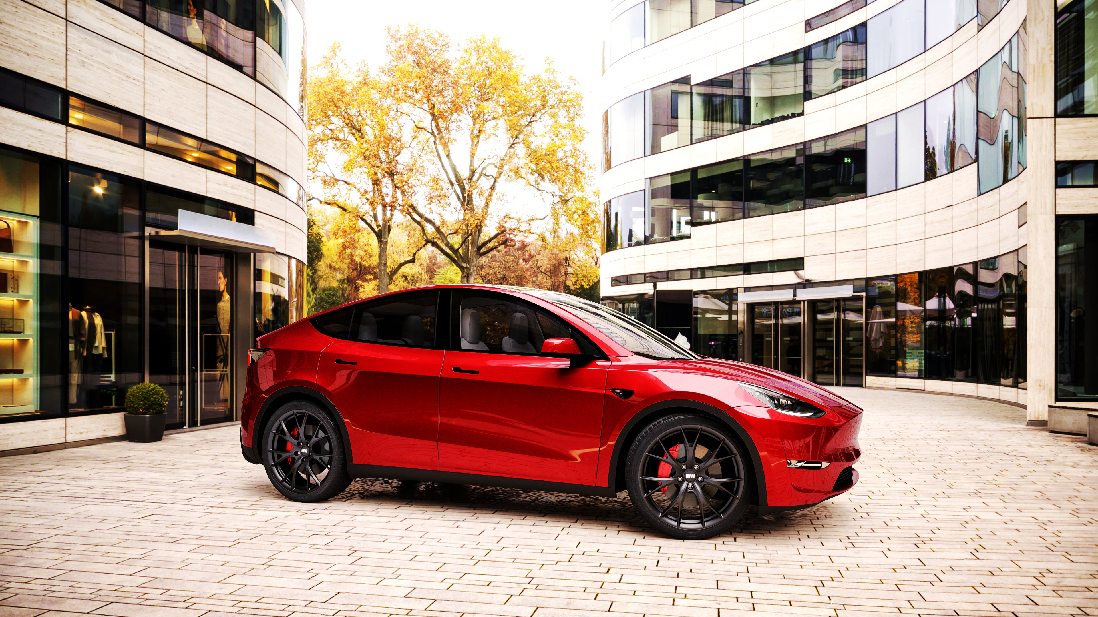 "Tesla Model Y 20"" MW03 Forged Wheels"