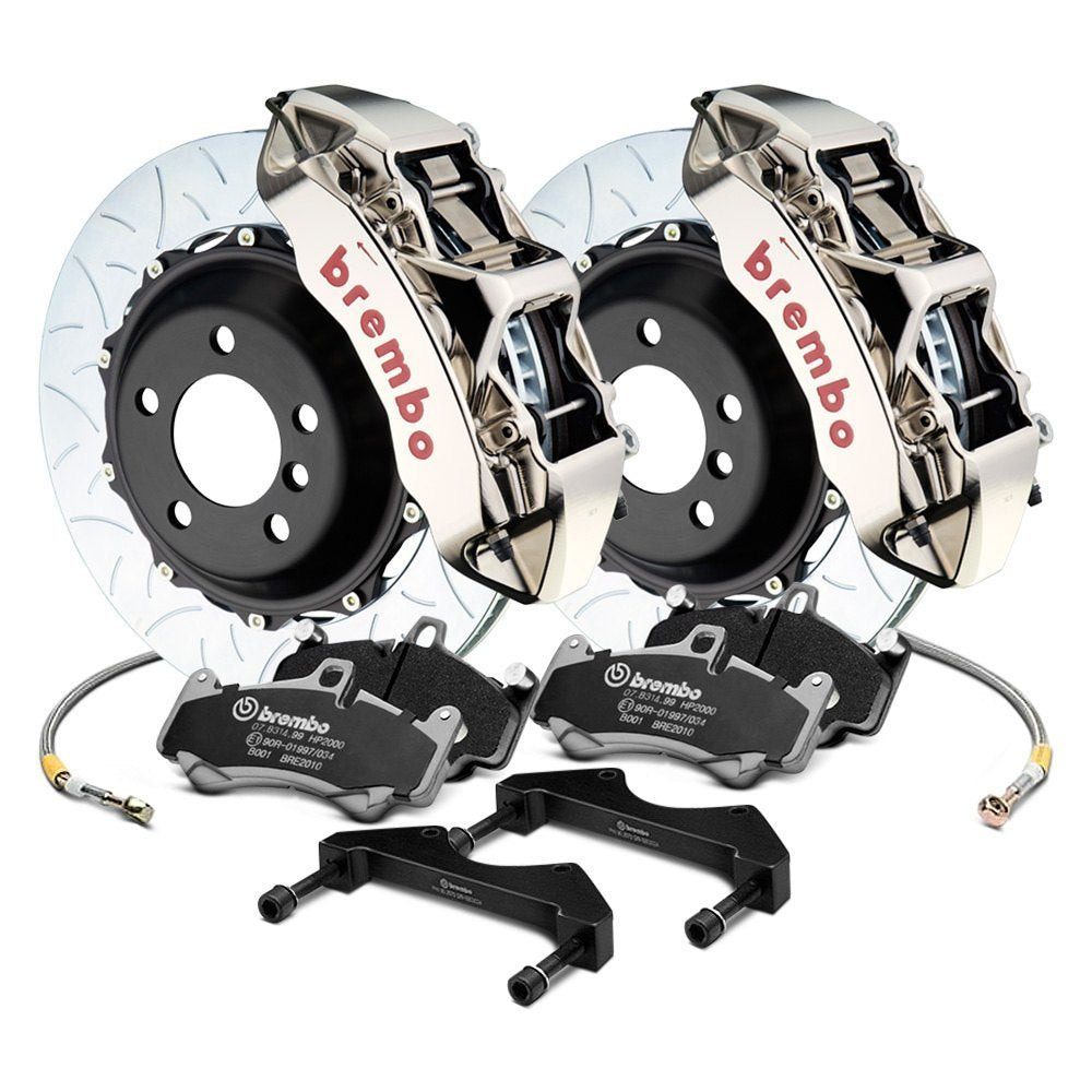Brembo GTR 6-Piston Big Brake Kit For Tesla Model 3