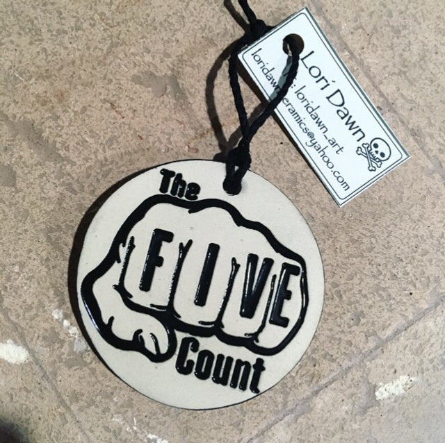 the five count ornament -fundraiser