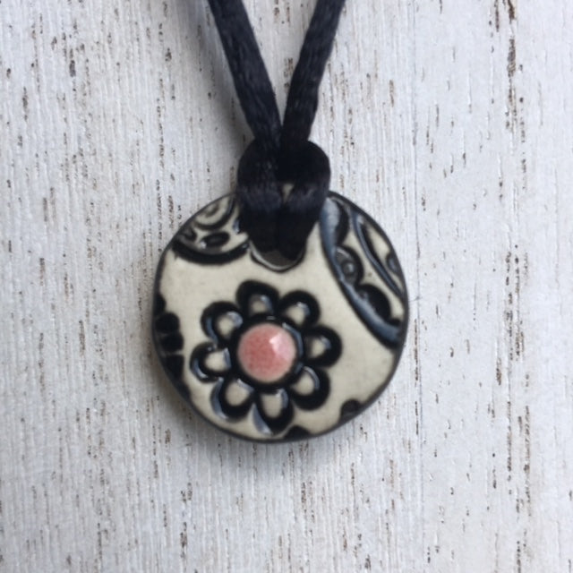 mini flower pendant