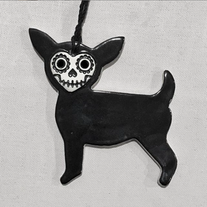skull dawg ornament