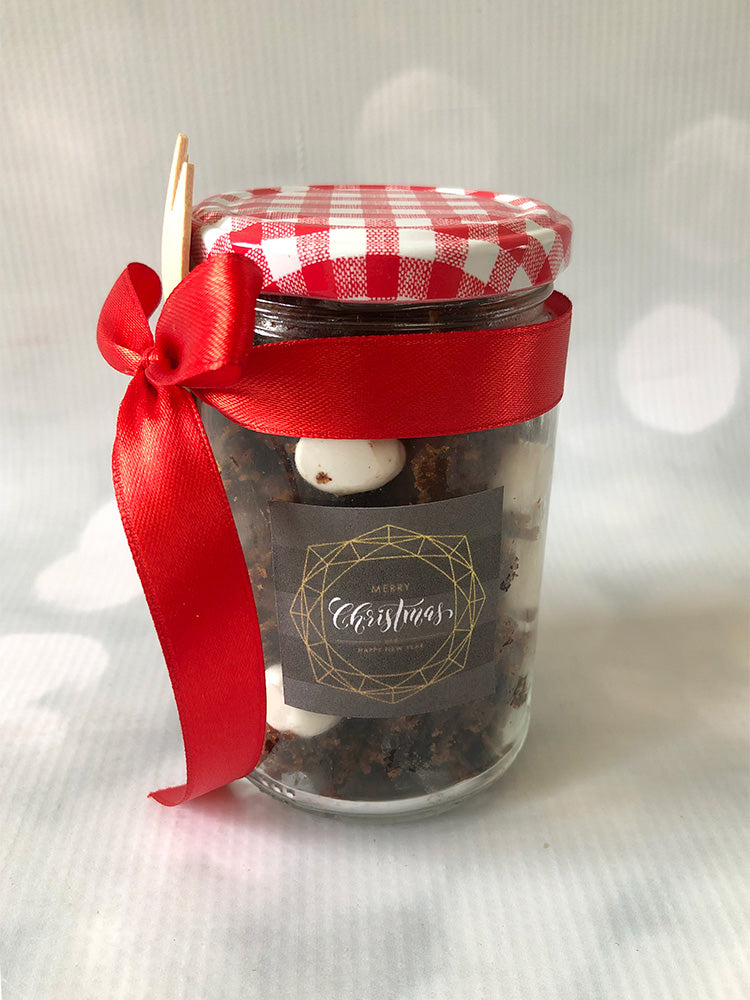 Christmas Cake-in-a-Jar