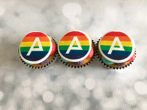 Fully Branded Logo Cupcakes