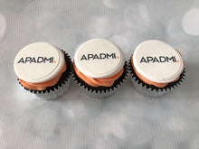 Load image into Gallery viewer, Half Branded Logo Cupcakes