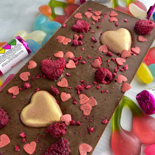 Milk Raspberry Choc-in-a-Box
