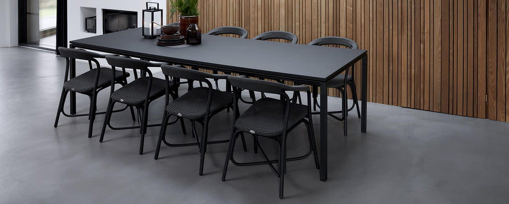 Indoor dining tables