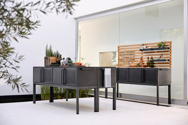 Outdoor kitchen Cane-line modern design