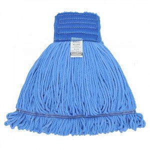 BLUE MICROFIBER LOOP-END WET MOP