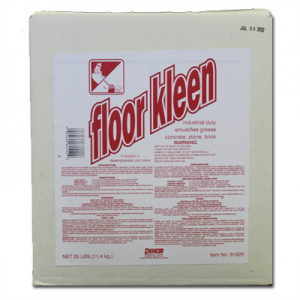FLOOR KLEEN POWDERED FLOOR CLEANER 25 LB
