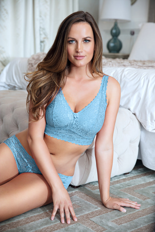 06224024be7d4 Parfail Adriana Lace Bralet D-G cups wire-free – MILAYO