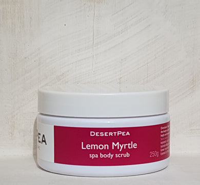 Lemon Myrtle Spa Salt Scrub 250g