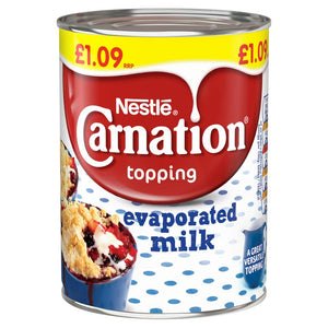 NESTLE CARNATION EVAPORATED MILK 410G