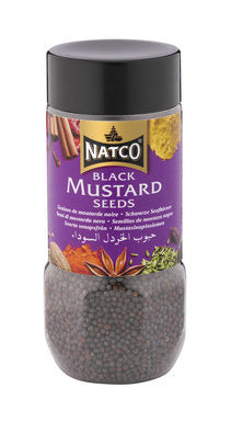 Natco Black Mustard Seeds Jar 100G