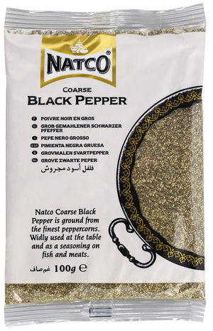 Natco Black Pepper Coarse 100g
