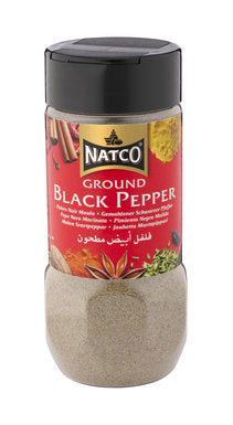 Natco Black Pepper Ground Jar 100g