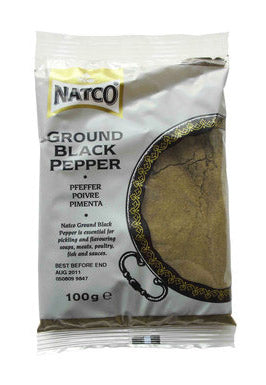 Natco Black Pepper Ground 100g