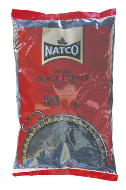 Natco Black Pepper Whole 100g