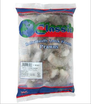 CLASSIC 8/12 FROZEN KING PRAWN 350G