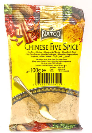 Natco Chinese Five Spice 100g