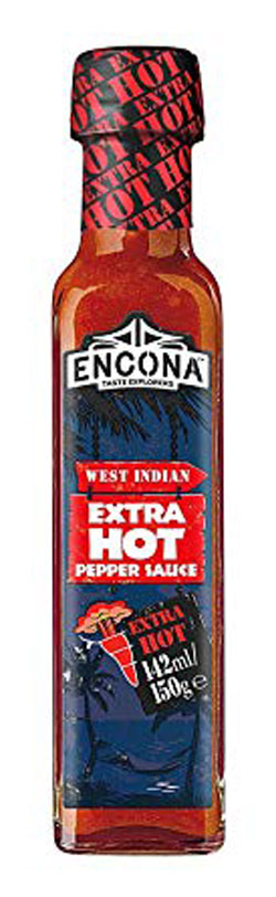 Encona Extra Hot Pepper Sauce 142ml