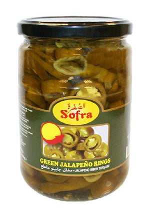 Pickled Green Jalapeno 720g