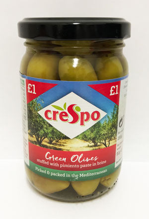 Green Olives in Braine 90g