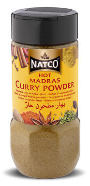 Natco Madras Curry Powder ( HOT ) Jar 100g