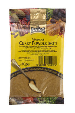 Natco Curry Powder ( HOT ) 100g