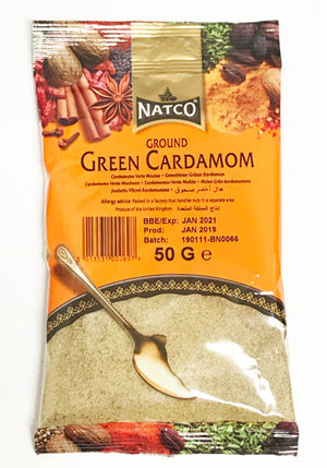 Natco Green Cardamom (Ground) 50g