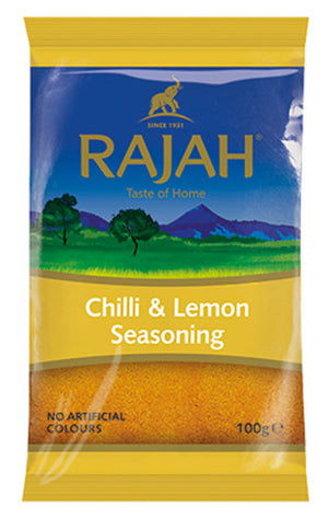 Rajah Chilli & Lemon Seasoning 100g
