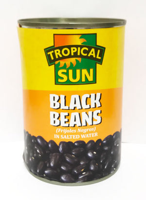 Tropical Sun Black Beans 400g