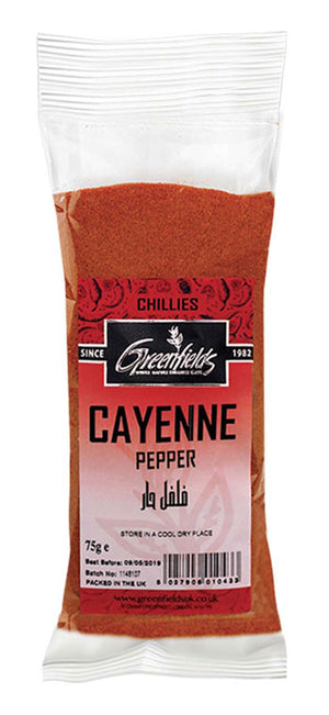Greenfields Cayenne Pepper 75g
