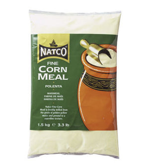 Natco Corn Meal Fine ( Plenta ) 500g