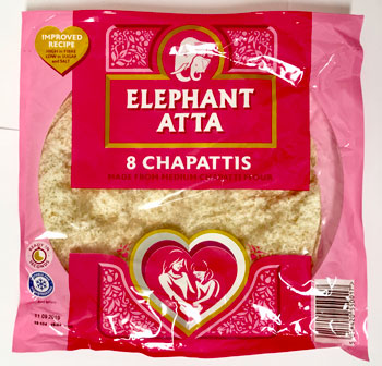 Elephant Chapatties 8in a pack