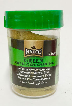 Natco Green Food Colouring 25g