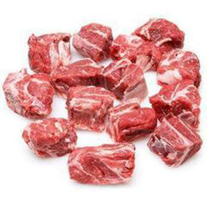 Lamb Diced (with bone) 1kg