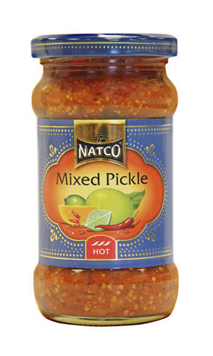 Natco Mixed Pickle (HOT) 300g