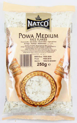 Natco Rice Flakes ( Powa Medium ) 250g