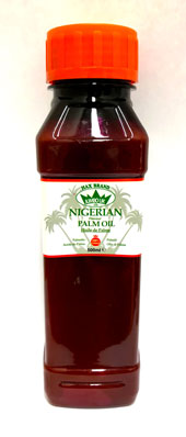 Nigerian Palm Oil 500ml