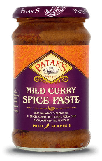 Patak's Mild Curry Spice Paste 283g