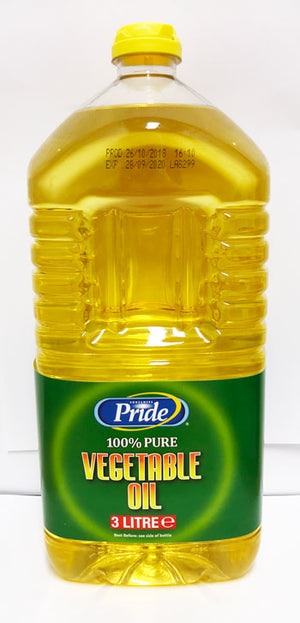 Pride Vegetable Oil 3 Litres