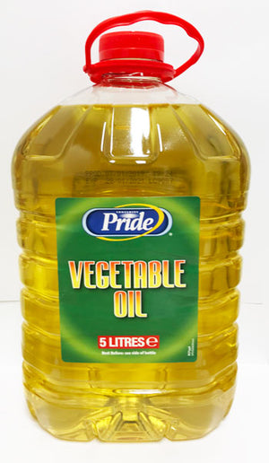 Pride Vegetable Oil 5 Litres