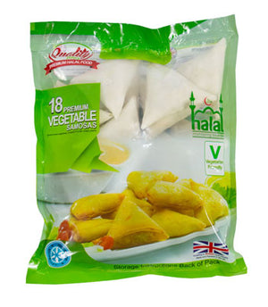 Quality Bites 18 Premium Vegetable Samosas 580g