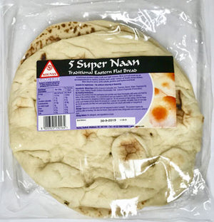 5 Super Naan (Flat Bread)