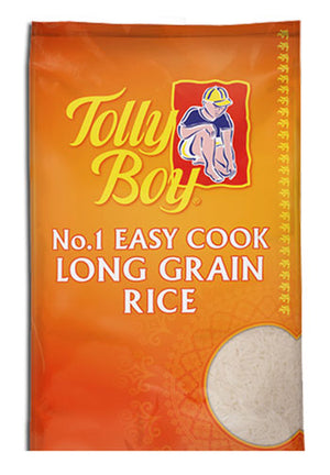 Tolly Boy Easy Cook Rice 5kg