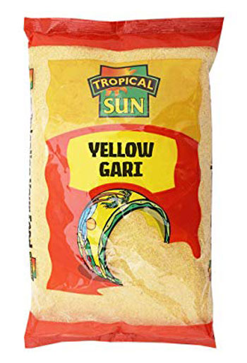 Tropical Sun Yellow Gari 1.5kg