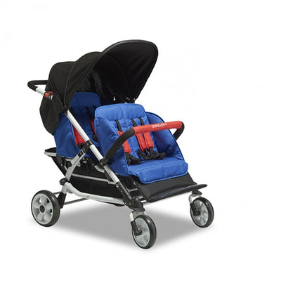 Winther 4 Seat Stroller with Rain Cover
