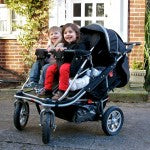 T4 JOGGER QUAD STROLLER with rain cover